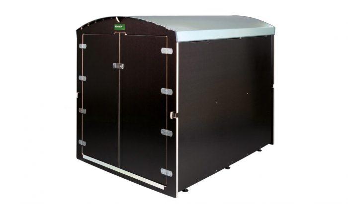 Die kiwabo XL halbtotale Ansicht - Kinderwagenboxe XL