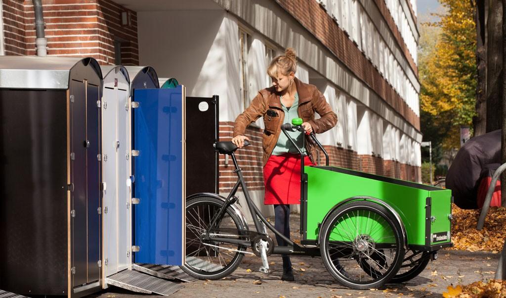 farabo XL, Minigarage für breite Lastenräder