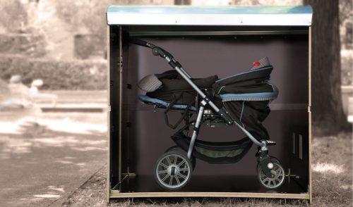 Volumenbild kiwabo L für Einzelkinderwagen