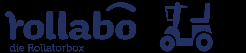 Logo rollabo blau