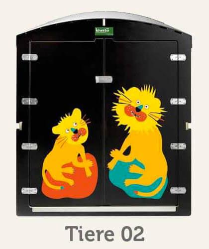 kiwabo Türmotive Tiere 02