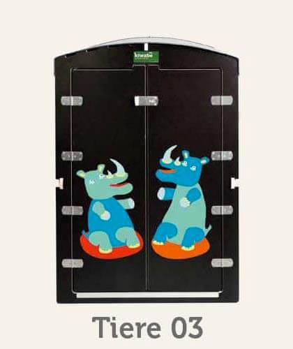 kiwabo Türmotive Tiere 03