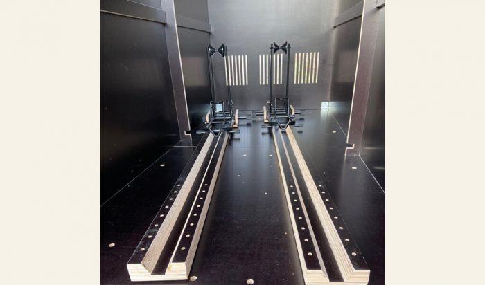 farabo x2 mit Einfahrtsschienen Detailbild Einfahrtsschienen
