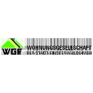 Wohnungsgesellschaft der Stadt Finsterwalde MBH Logo WGF