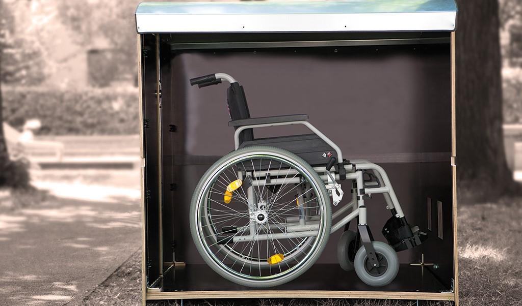 Volumenbild rollabo L mit Rollstuhl