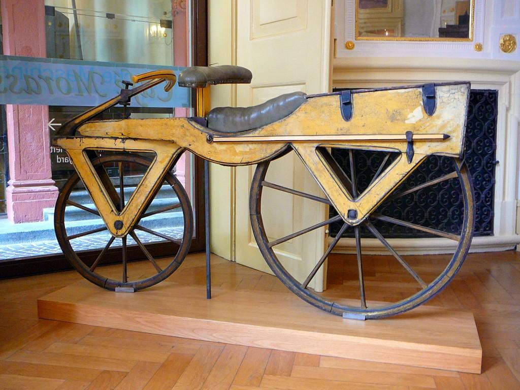 Draisine Laufmaschine um 1820