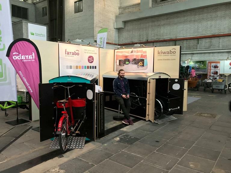 Messestand auf der Fahrradmesse Velo 2017
